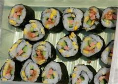 甜玉米海苔卷
