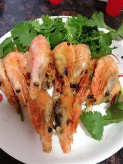 北极虾-椒盐虾