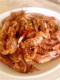 麻香椒盐虾菇
