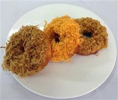 肉松甜甜圈