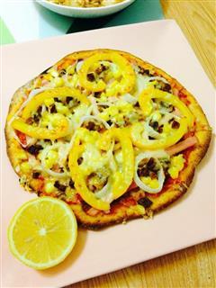 姬松茸薄皮披萨