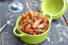 世界杯美食-椒盐虾头