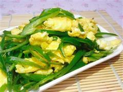 分享-如何分辨土鸡蛋-青椒炒鸡蛋