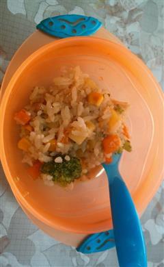 蔬菜烩饭宝宝版