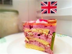 桑葚坚果酸奶慕斯蛋糕