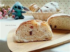 蔓越莓全麦面包