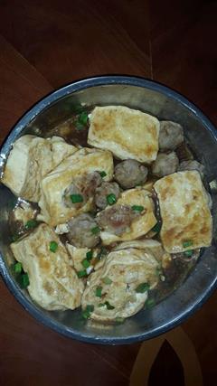 龙川龙母牛屎塘客家酿豆腐