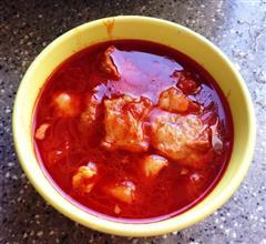 简单高压锅版西红柿炖牛腩