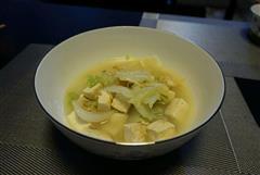 咸鲜口的白菜炖豆腐