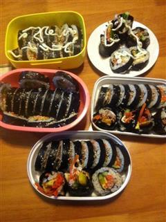 韩国吞拿鱼紫菜包饭