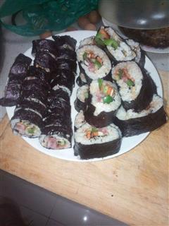 吃货版紫菜包饭