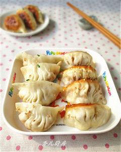 榨菜豆腐猪肉锅贴-乌江榨菜