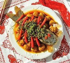 金玉满堂的香辣酥鱼