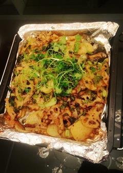 烤箱版-铁板香脆烤鱼