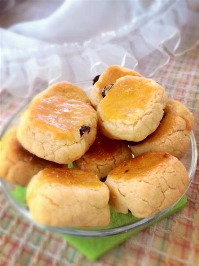葡萄干蛋奶酥饼干