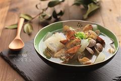 蛤蜊萝卜汤
