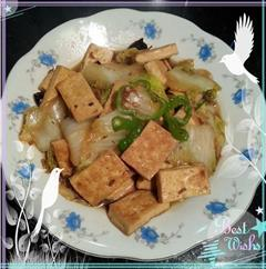 连爷爷奶奶都爱吃的-白菜炖豆腐