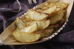 馋嘴小零食-孜然烤薯角