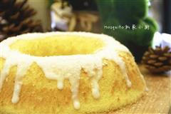 8寸椰汁戚风蛋糕