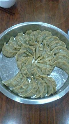 豆干韭菜饺