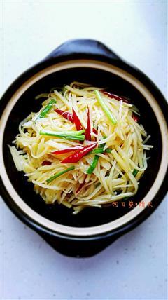 开胃菜-醋溜土豆丝