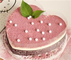 心形慕斯蛋糕