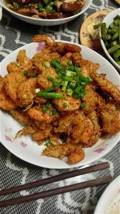 简单版椒盐虾