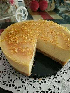桂花芝士蛋糕