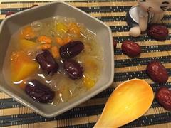 懒人版-木瓜红枣银耳汤