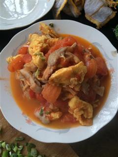 家常版 西红柿炒鸡蛋