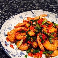 川香椒盐虾