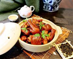 年夜菜发财就手-不油腻的茶香猪手