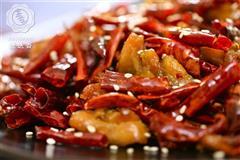 辣子鸡丁-东方版感恩节炸鸡