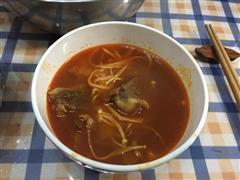 西红柿炖牛腩-一人食