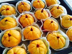 节日必备-南瓜饼