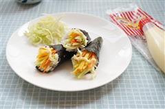 丘比沙拉酱-手卷寿司