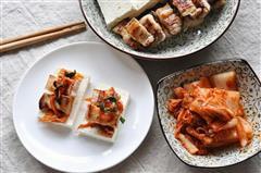 自制豆腐&豆腐包肉