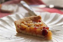 蔓越莓苹果派