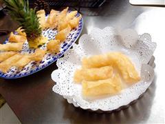 菠萝派 凤梨派 酥脆酸甜口 超薄的皮