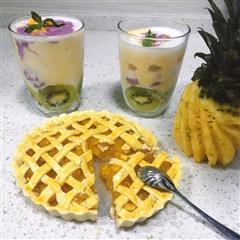 菠萝派&夏了夏天了smoothie