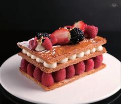 香草水果森林千层饼-法国甜点MOF大师作品
