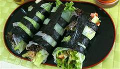 创意越南卷荤素两吃