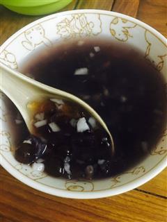 紫米燕麦马蹄紫薯糖水