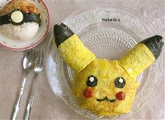 皮卡丘蛋包饭