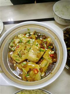 豆腐煎肉盅