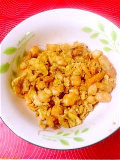虾仁炒鸡蛋