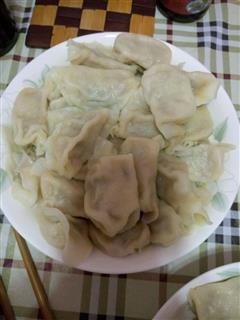 冬瓜猪肉馅水饺