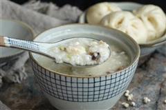 香菇薏米滑鸡粥