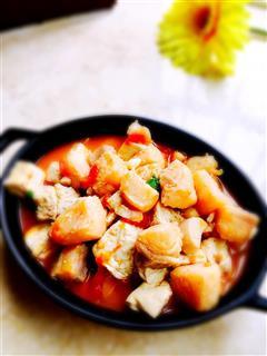 龙利鱼豆腐煲