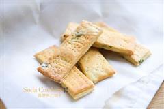 香酥可口的香葱苏打饼干